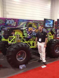 Mini Monster Truck!