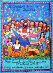 Beatriz Aurora Poster Print: La Comandanta Ramona y las Zapatistas