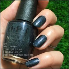 OPI Coalmates 2 - Love OPI XOXO Holiday 2017 Collection