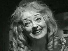 Ahhh..Baby Jane Hudson. Creepy movie, but a classic. : )