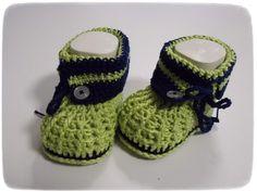 Babyschuhe/ Babystiefelchen von sweet baby shoes store auf DaWanda.com