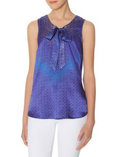 Sleeveless Bow Blouse from THELIMITED.com