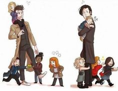 Time Lords and they're time kids