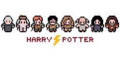 Harry Potter Cross Stitch Pattern (PDF). £2.75, via Etsy.