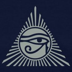 Eye of Ra Womens T-Shirt