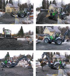 #Lännen #Lannen #multimachine #multifunction #Machine #heavyduty #backhoeloader #backhoe #excavator