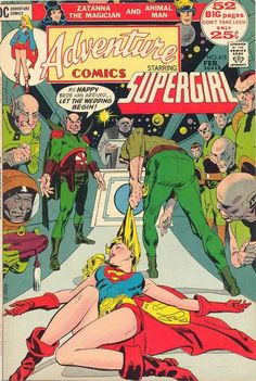 Adventure Comics #415. Supergirl meets her groom. #AdventureComics #Supergirl