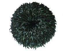 After Flock, convex feather wall sculpture, 100cm diameter limited edition of 3 available by commission