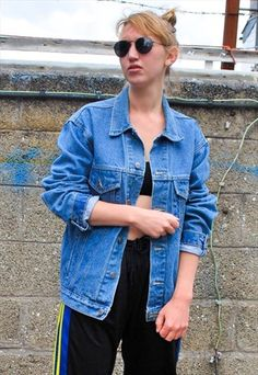 140d6f8b Jackets | Women. Oversized Denim JacketDenim Button UpButton Up ShirtsJackets  ...