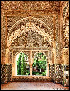 Mirador de Daraxa, Alhambra, Spain
