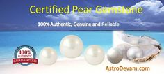 Pearls or sea pearls bless users in many aspects of life like, good health, rich heart, facial lustre, conjugal bliss, Pearl gemstone works as an antenna towards orange cosmic rays. Know more about the benefits of a Natural Pearl here: