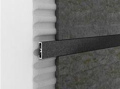 Profilé de finition décoratif en aluminium pour murs CERFIX® PROLIST LDAD - PROFILPAS