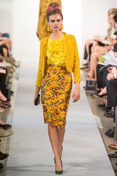 Oscar De La Renta Spring/Summer 2013 Ready-To-Wear | British Vogue