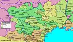 Political map of Languedoc on the eve of the Albigensian Crusade Date1209–1229 LocationLanguedoc, France