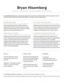 Resume Template With Photo Word Instant Download Creative Cv
