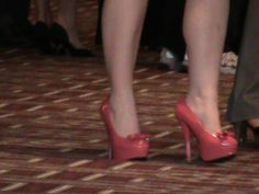 The really tall Plexus Pink Shoes