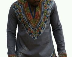 Odeneho Wear Men's White Polished Cotton Top And Bottom..