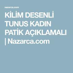 KİLİM DESENLİ TUNUS KADIN PATİK AÇIKLAMALI | Nazarca.com