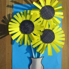 cereal box sunflowers