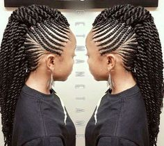 Bcl hairstyle older women hair color awesome,afro hairstyles short asymmetrical hairstyles choppy,medium bob hairstyles feather cut for oval face. Braided Mohawk Hairstyles, Mohawk Braid, African Braids Hairstyles, My Hairstyle, Twist Braids, Twist Hairstyles, Braided Mohawk Black Hair, Famous Hairstyles, Gorgeous Hairstyles