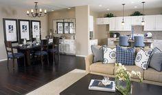 Denise - Family/Dining Room | Denise floor plan | Richmond American Homes | ,  |