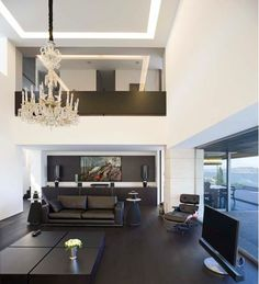Stunning Living Room with an Open Floor Plan