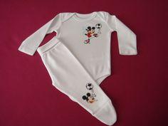 Body e calça do Mickey