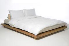 Home :: Beds :: Low Beds :: Platform Kingsize Bed Elm Finish