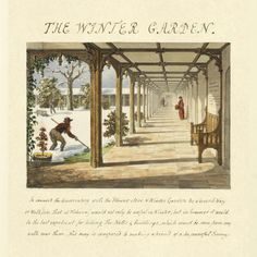 The Winter Garden, 1813 by Humphry Repton