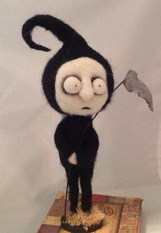 The grim reaper Ooak art doll