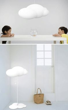 Cloud lamps from Chinese designer Zhao Liping
