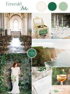 Emerald Aisle - Graceful Irish Wedding Ideas for Saint Patrick