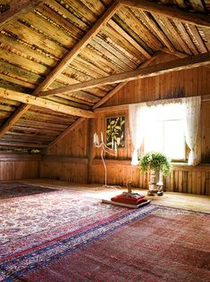 Attic. NP, what else is prettier than that on Pinterest? Very beautiful.