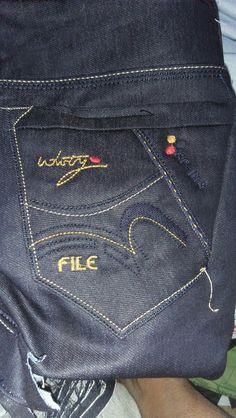 Color Jeans, Jeans Fashion, Denim Jeans, Pocket, Pants, Men, Men's Bottoms, Pockets, Bags