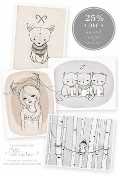 Kelly Murray stationary / greeting cards....