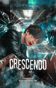 """Cover for fanfiction """"Crescendo"""" by rzycierzycie ❝As boys, they said they would die for each other. As men, they did. Wattpad Book Covers, Wattpad Books, Jungkook Fanart, Kpop Fanart, Book Cover Creator, Foto Bts, Graphic Portfolio, Kpop Posters, Movie Covers"""