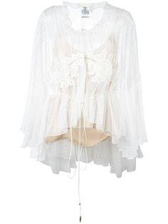 CHLOÉ embroidered lace blouse. #chloé #cloth #블라우스