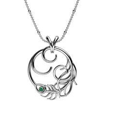 Peacock Necklace In Silver www.jewellery.ozyle (13) » Latest ...