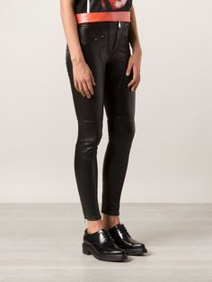 Givenchy байкерские брюки