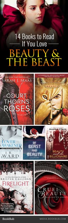 If you love Beauty and the Beast, check out these 14 retellings and themed novels.