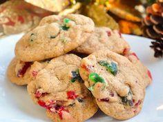Light Fruitcake Cookies