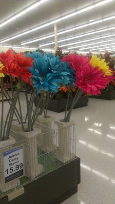 Giant Flowers At Hobby Lobby I Love Them All But What