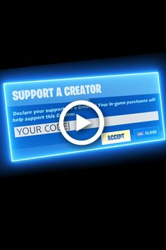 how to change your creator code