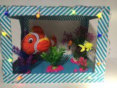 Nemo aquarium Sinterklaas surprise www.sinterklaassurprises.jouwweb.nl