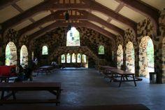 Joske Pavilion - Interior Brackenridge Park | That which doesn't ...