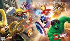 Los SuperHeros de Marvel Lego  #E3