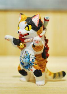 Custom Negora 手工改造喵吉拉 No. 02 - Kaiju Paradise 2015