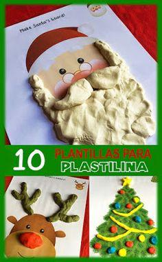 Actividades para Educación Infantil: 10 plantillas para trabajar con plastilina