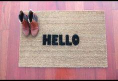DIY: Welcome Doormat   Photos   HGTV Canada