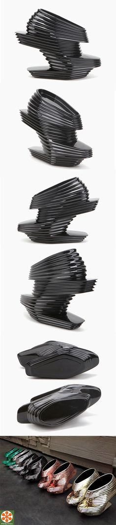 Architect Zaha Hadid designs the limited edition Nova Shoe for United Nude.